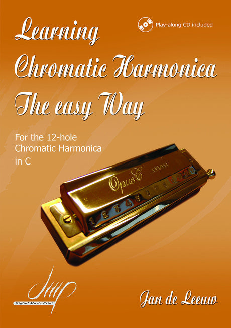 de Leeuw - Learning the Chromatic Harmonica, Book 1 - HA111013DMP
