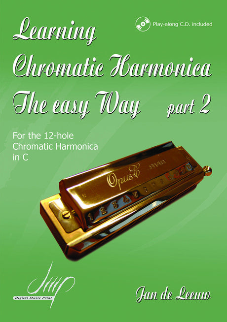 de Leeuw - Learning the Chromatic Harmonica, Book 2 - HA111045DMP