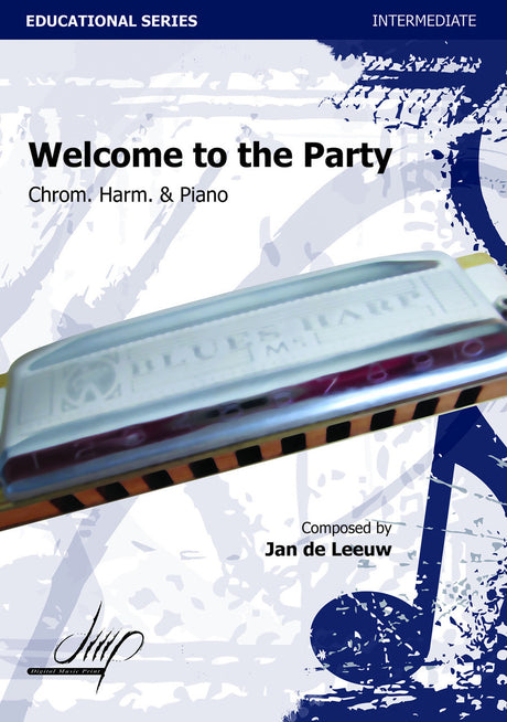 de Leeuw - Welcome to the Party (Harmonica and Piano) - HAP113046DMP