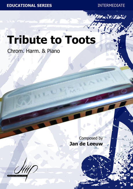 de Leeuw - Tribute to Toots (Harmonica and Piano) - HAP115027DMP