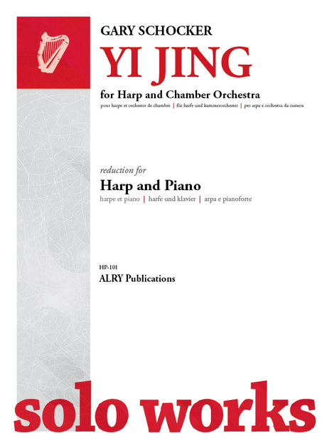 Schocker - Yi Jing for Harp and Chamber Orchestra (Piano Reduction) - HP101