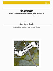 Beach - From Grandmother's Garden: Heartsease, Op. 97, No. 2 (Flute and Piano) - JBL12