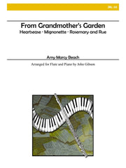 Beach (arr. Gibson) - From Grandmother's Garden (Flute and Piano) - JBL16