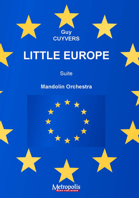 Cuyvers - Little Europe for Mandolin Orchestra - M7116EM