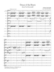 Ponchielli (arr. Ben-Meir) - Dance of the Hours from La Gioconda (Flute Orchestra) - MEG018
