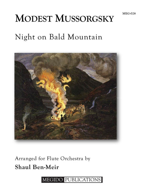 Mussorgsky (arr. Ben-Meir) - Night on Bald Mountain (Flute Orchestra) - MEG028