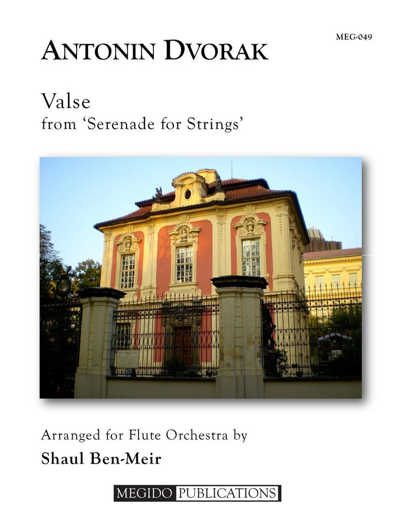 Dvorak (arr. Ben-Meir) - Valse from 'Serenade for Strings' (Flute Orchestra) - MEG049