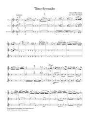 Mercadante (arr. Ben-Meir) - Three Serenades (Two Flutes and Alto Flute) - MEG063