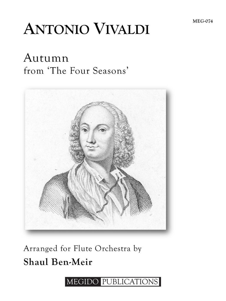 Vivaldi (arr. Ben-Meir) - Autumn from 'The Four Seasons' (Flute Orchestra) - MEG074
