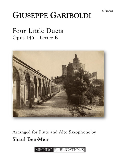Gariboldi - Four Little Duets for Flute and Alto Saxophone - MEG089