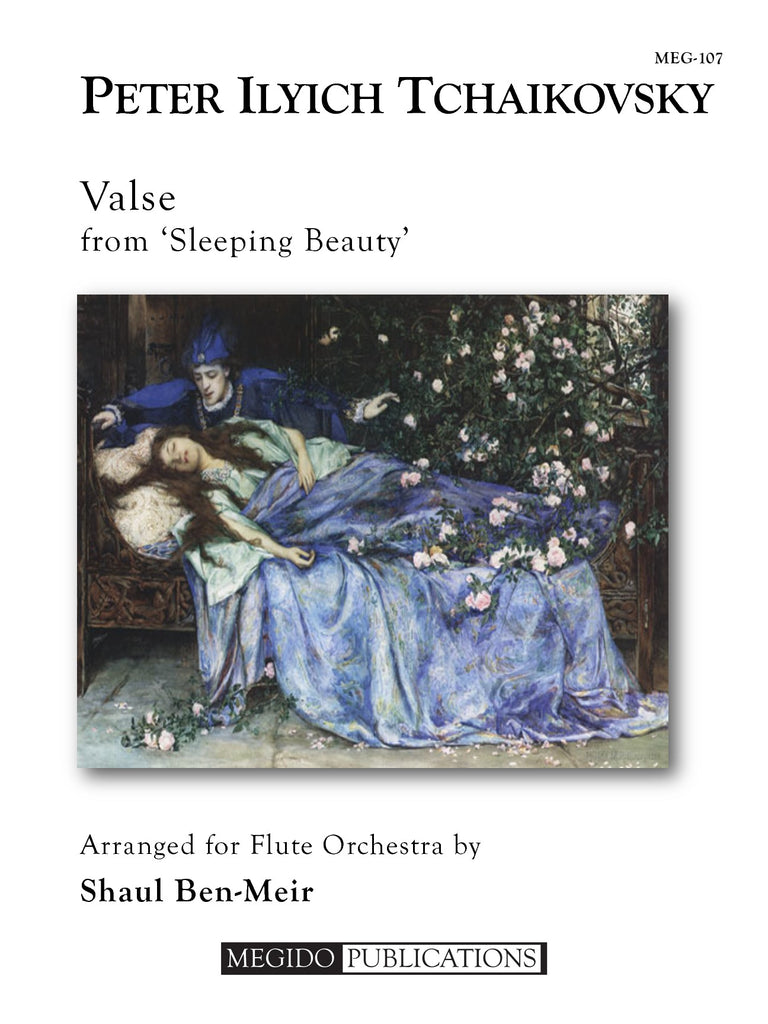 Tchaikovsky (arr. Ben-Meir) - Valse from Sleeping Beauty (Flute Orchestra) - MEG107