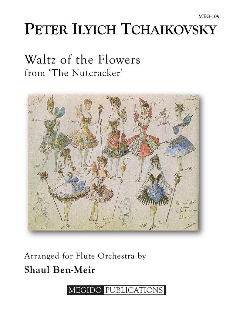 Tchaikovsky (arr. Ben-Meir) - Waltz of the Flower from The Nutcracker (Flute Orchestra) - MEG109