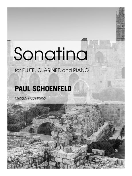 Schoenfeld - Sonatina for Flute, Clarinet and Piano (Piano Score ONLY) - MIG07