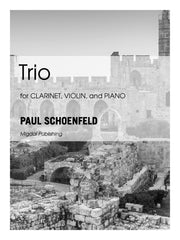 Schoenfeld - Trio for Clarinet, Violin and Piano (Piano Score ONLY) - MIG15