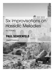 Schoenfeld - Six Improvisations on Hassidic Melodies for Piano Solo - MIG17