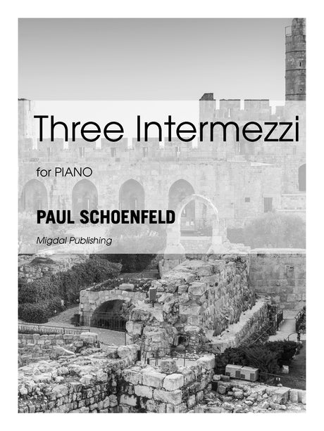 Schoenfeld - Three Intermezzi for Piano Solo - MIG18