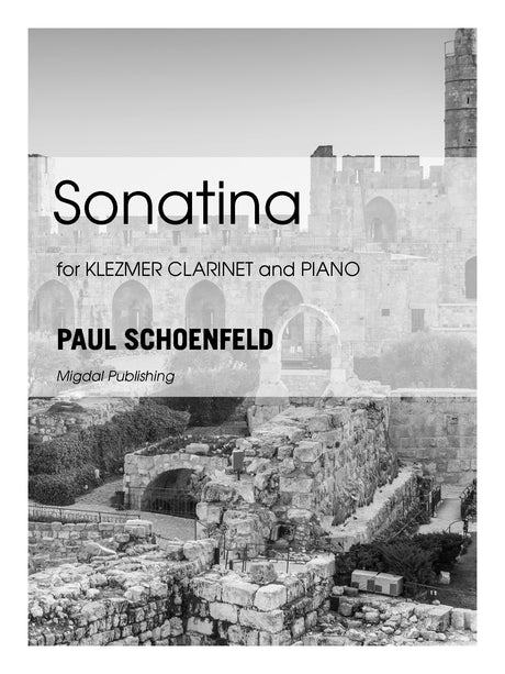 Schoenfeld - Sonatina for Klezmer Clarinet and Piano - MIG21