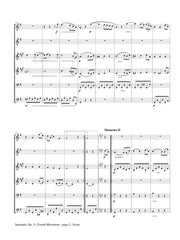 Brahms (arr. Popkin) - Serenade, Op. 11, Fourth Movement for Wind Sextet - MP01B