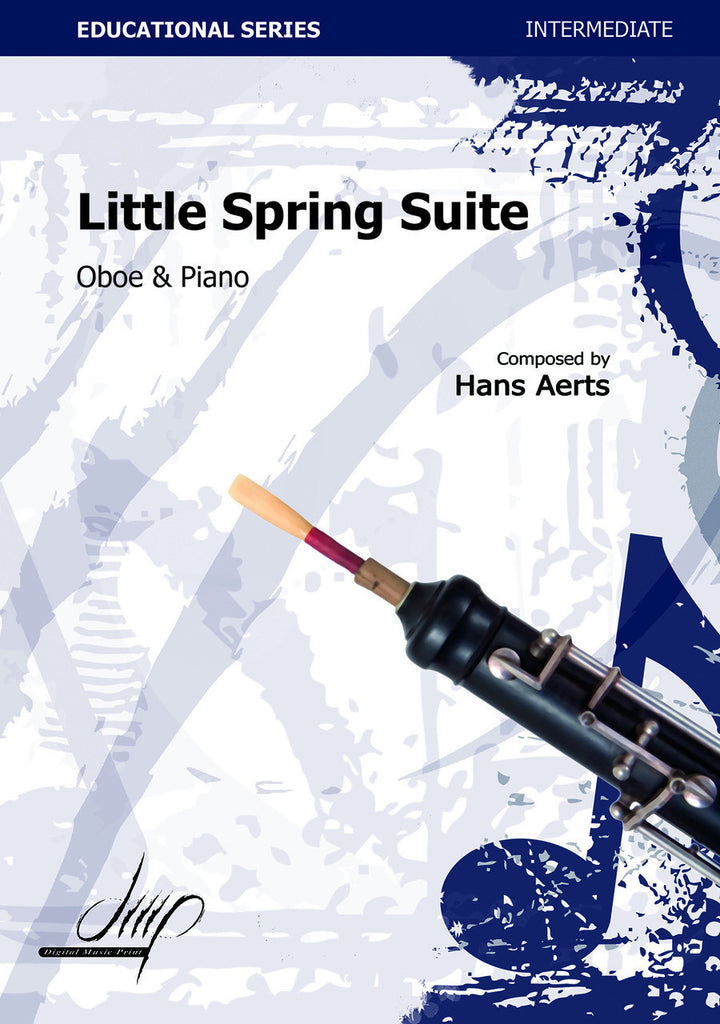 Aerts - Little Spring Suite (Oboe and Piano) - OP106132DMP