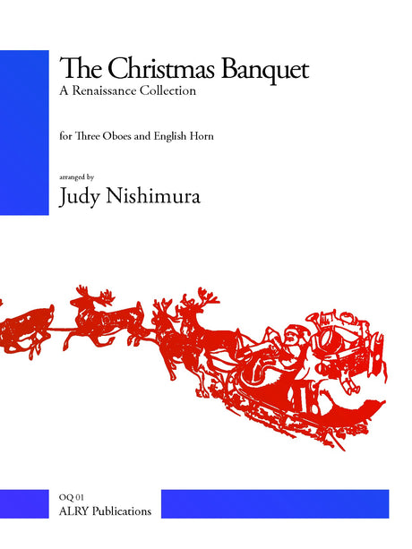 Nishimura - The Christmas Banquet for 3 Oboes and English Horn - OQ01
