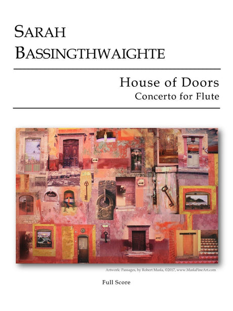 Bassingthwaighte - House of Doors (Flute and Orchestra) - OR07