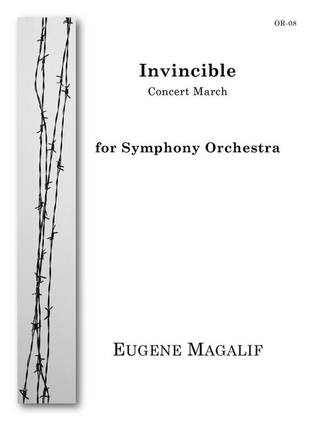 Magalif - Invincible (Symphony Orchestra) - OR08
