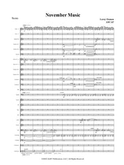 Osmon - November Music for SATB Choir and Orchestra - OR12