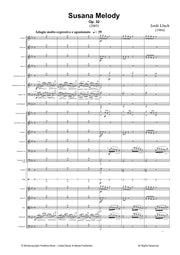 Lluch - Susana Melody for Orchestra - OR3068PM