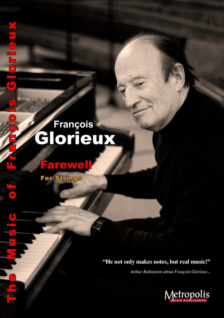 Glorieux - Farewell (Full Score and Parts) - OR6640EM
