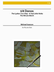 Isaacson - 6/8 Dances for Solo Piccolo - P06
