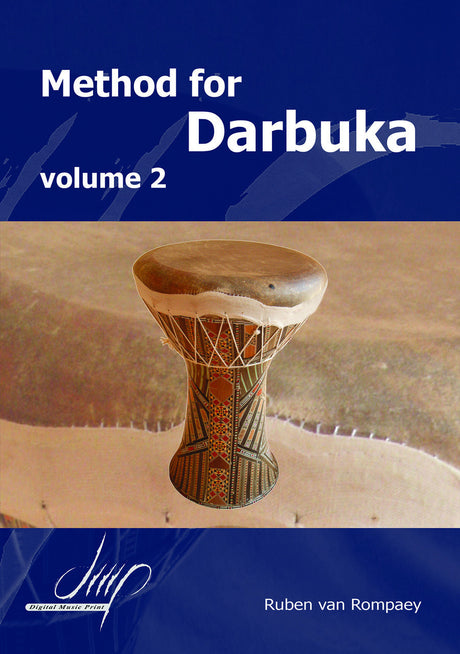van Rompaey - Method for Darbuka, Volume 2 - PC106106DMP
