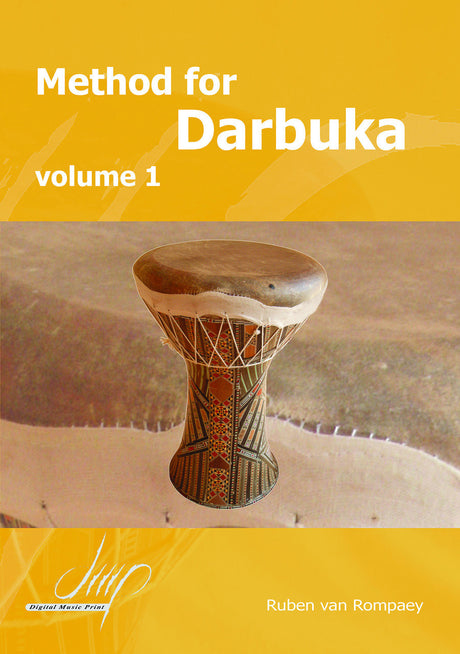 van Rompaey - Method for Darbuka, Volume 1 - PC10696DMP