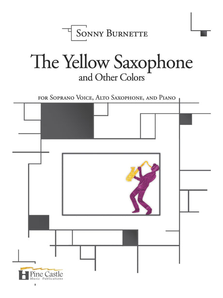 Burnette - The Yellow Saxophone and Other Colors - PCMP116