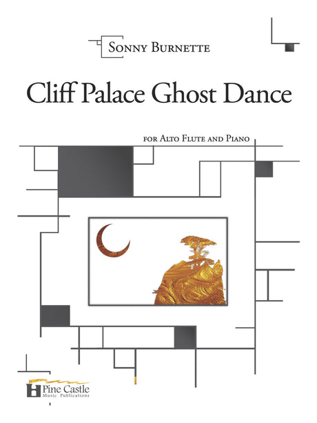 Burnette - Cliff Palace Ghost Dance for Alto Flute and Piano - PCMP130