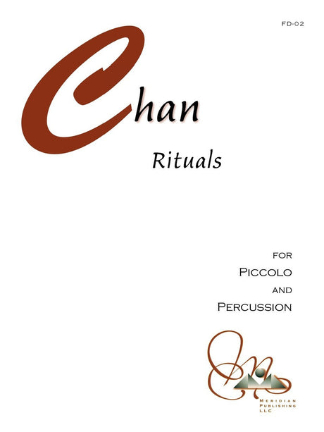 Alan Chan - Rituals (Piccolo and Percussion) - PD02