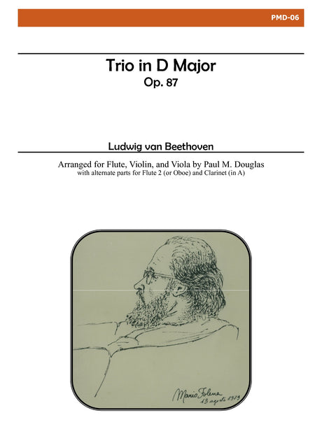 Beethoven - Trio in D Major, Op. 87 - PMD06