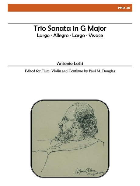 Lotti (arr. Douglas) - Trio Sonata in G Major - PMD30