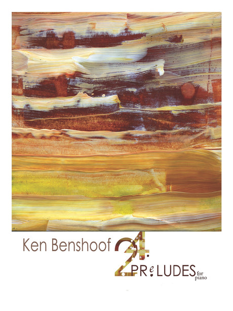 Benshoof - 24 Preludes for Piano - PN01