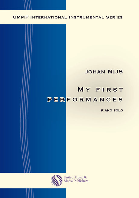 Nijs - My first performances for Piano Solo - PN130915UMMP