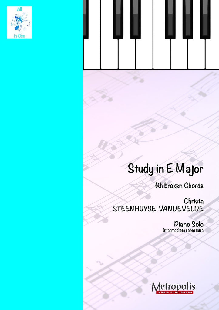 Steenhuyse-Vandevelde - Study in E Major - PN6617EM