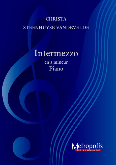 Steenhuyse-Vandevelde - Etude in a mineur for Piano Solo - PN7345EM