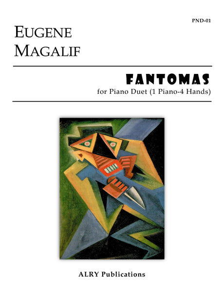 Magalif - Fantomas for Piano Duet (1 Piano-4 Hands) - PND01