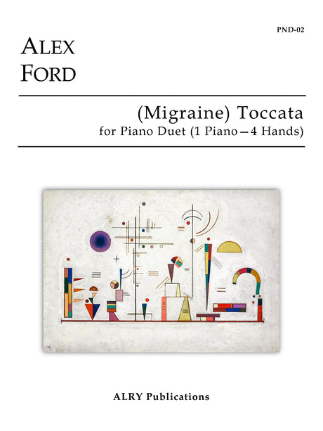 Ford - (Migraine) Toccata for Piano Duet (1 Piano-4 Hands) - PND02
