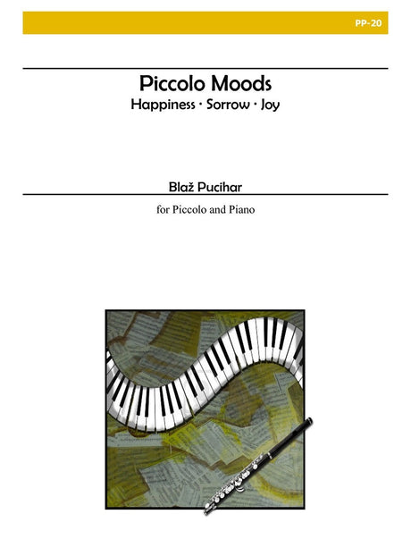 Pucihar - Piccolo Moods for Piccolo and Piano - PP20