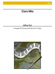 Yost (arr. Sparr) - Cara Mia (Piccolo and Piano) - PP21