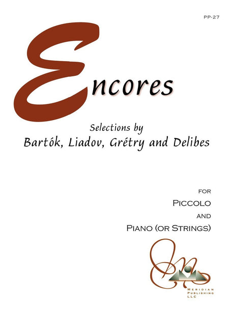 Woehr (ed. Gippo) - Encores for Piccolo and Piano - PP27