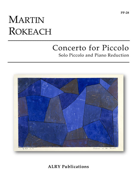 Rokeach - Concerto for Piccolo (Piano Reduction) - PP28