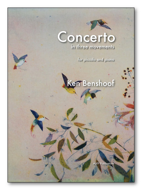 Benshoof - Piccolo Concerto (Piano Reduction) - PP29