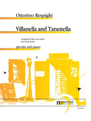 Respighi (arr. Archer) - Villanella and Tarantella for Piccolo and Piano - PP30NW