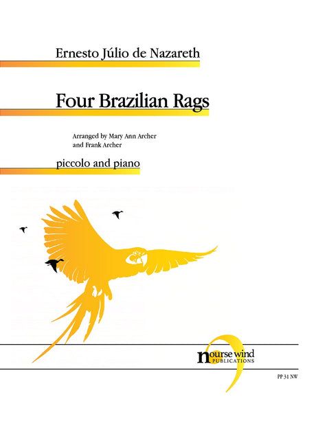 Nazareth (arr. Archer) - Four Brazilian Rags for Piccolo and Piano - PP31NW